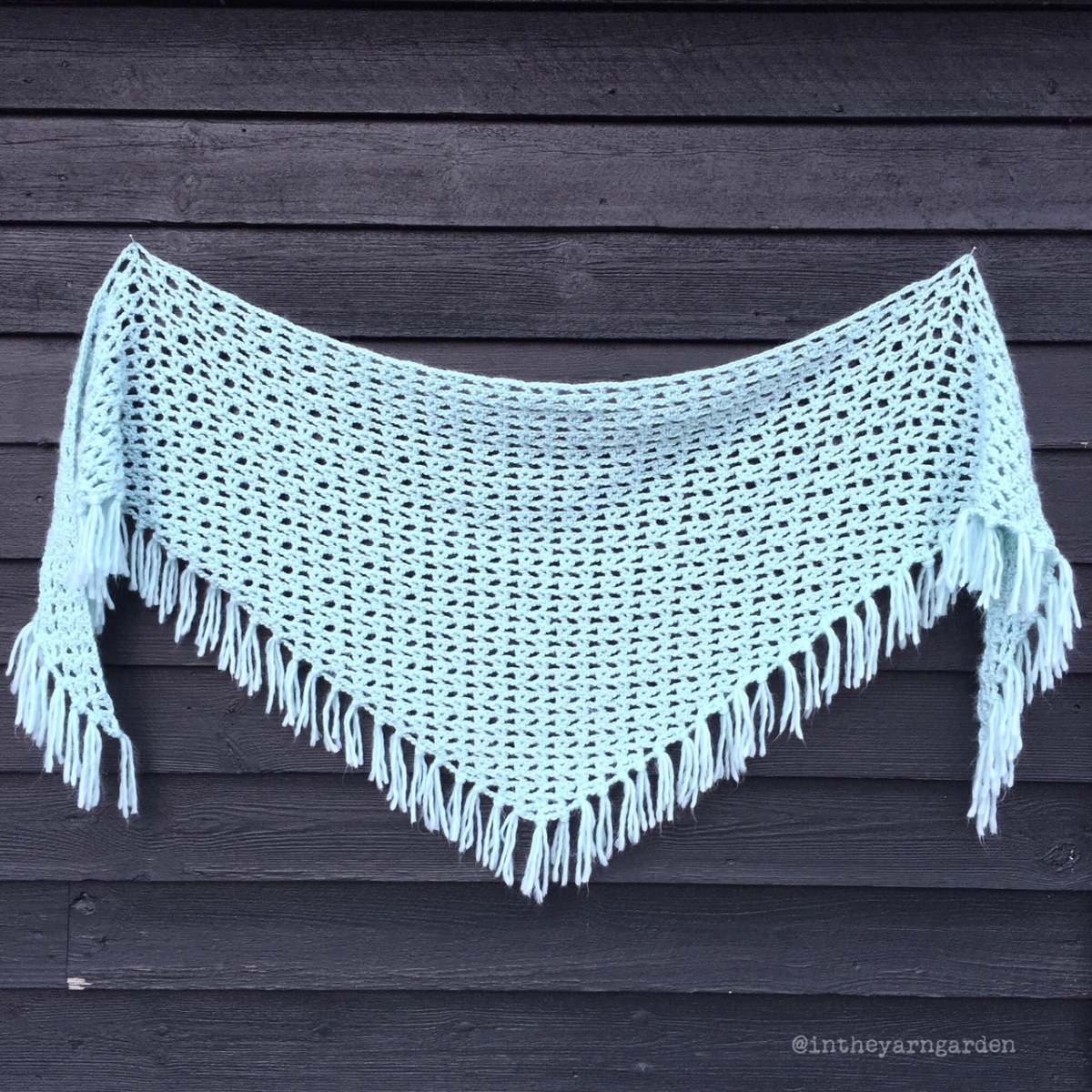 Interwebs Shawl